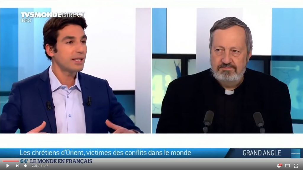 Capture TV5 Monde Gollnisch
